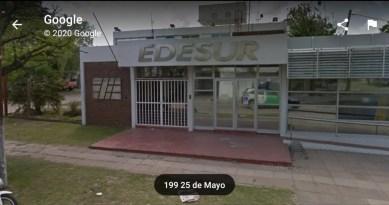 Edesur en Cañuelas tiene a 3659 usuarios sin energía eléctrica el 7 de febrero del 2020.