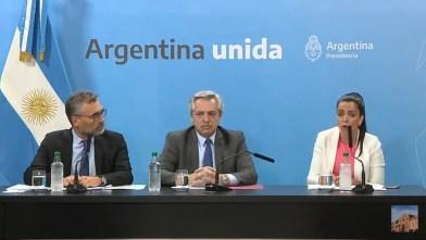 El Presidente de la Nación Alberto Fernández anunció un aumento para los Jubilados.