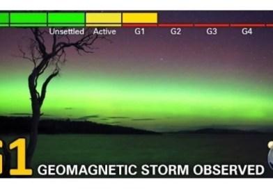 Tormenta geomágnetica G1 del 19 de febrero al 21.