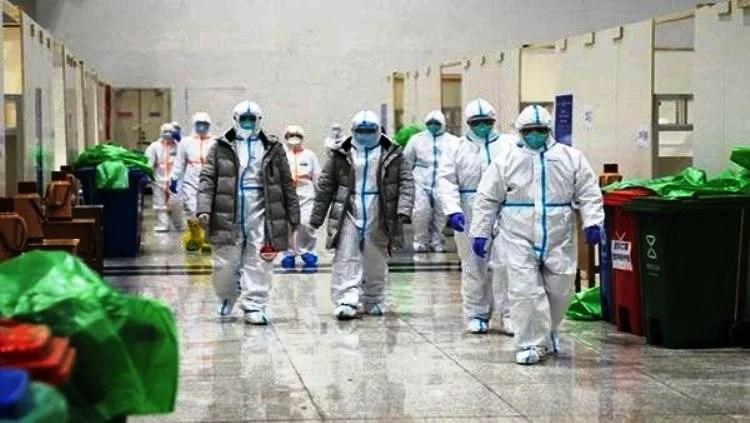 Coronavirus aislado de humanos Patente del ministerio de salud de los EEUU, US7220852B1 del 2003 y aparece en China.
