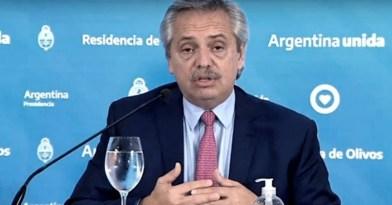 """Coronavirus COVID-19 Fernández: """"No es ético condenar a la gente a la muerte para que alguien no pierda plata"""""""