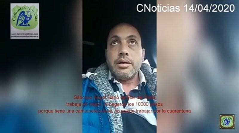 , Mar del Plata, Hombre desesperado para alimentar a su flia., Cañuelas Noticias - Noticias de Argentina