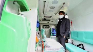"""La Gobernación de la Provincia de Bs. As. La Región Sanitaria XI cuenta condos nuevas ambulancias del sistema """"SIES"""""""