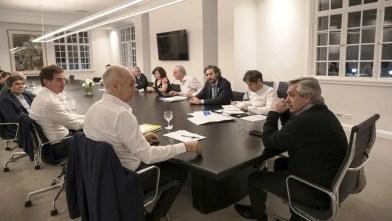 Argentina COVID-19 Aislamiento social Alberto Fernández avanzó con Kicillof y Larreta en un acuerdo.