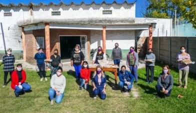 Cañuelas: Actividad solidaria de la Red de Mujeres en Los Pozos.