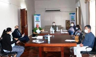 Cañuelas: COVID-19 Primera reunión del Comité de Salud.