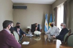 Cañuelas, encuentro con autoridades del Club de Campo La Martona, con la Municipalidad.