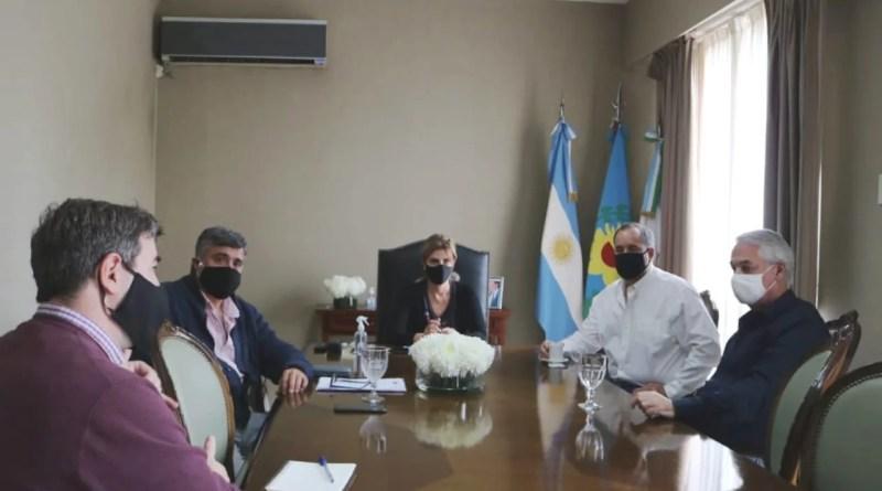 , Cañuelas, encuentro con autoridades del Club de Campo La Martona, con la Municipalidad., Cañuelas Noticias - Noticias de Argentina