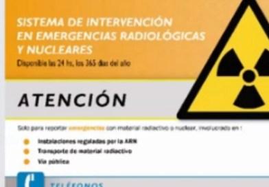Ministerio de Seguridad de la Provincia de Bs. As. Jornadas de capacitación en Emergencias Radiológicas