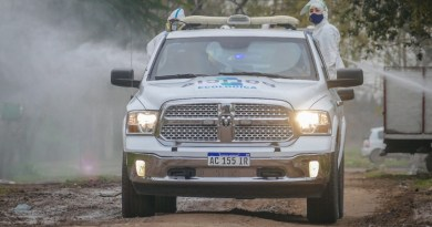 , Cañuelas COVID-19 : Operativo de desinfección de la Policía Ecológica., Cañuelas Noticias - Noticias de Argentina