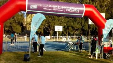 Cañuelas, se inició en el Parque de la Salud la práctica en prueba Piloto de Gimnasios al aire libre.