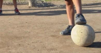 Cañuelas, menor de edad falleció jugando al fútbol en el Barrio Guzzetti.