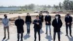 Kicillof participó del anuncio nacional de reactivación de obras públicas, la Intendenta Fassi de Cañuelas estuvo presenté.
