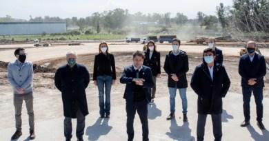 , Kicillof participó del anuncio nacional de reactivación de obras públicas, la Intendenta Fassi de Cañuelas estuvo presenté., Cañuelas Noticias-CNoticias de Argentina