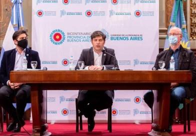 """Kicillof: """"Pudimos cuidarnos gracias a la solidaridad, el trabajo colectivo y a un Estado presente""""*"""