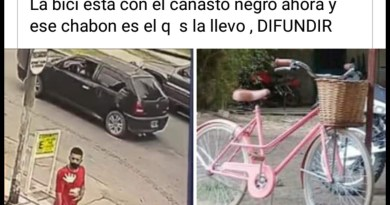 , Cañuelas, robaron una bicicleta de una empleada de un Super Chino, quedó grabado en la cámara de seguridad., Cañuelas Noticias de Argentina