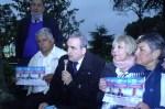 Cañuelas - Guillermo Moreno, Mirta Pérez, estuvo en la Plaza San Martín, con Darío Chavez, Teresa De Luca.