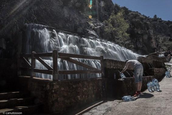 100 caños agua potable