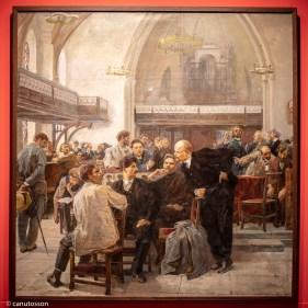 Iósif Serebriani. Een el V Congreso del Partido Obrero Socialdemócrata Ruso de Londres.