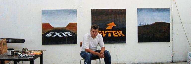 KKV konstnärernas Kollektivverkstad har kommit till Telestaden i Farsta.