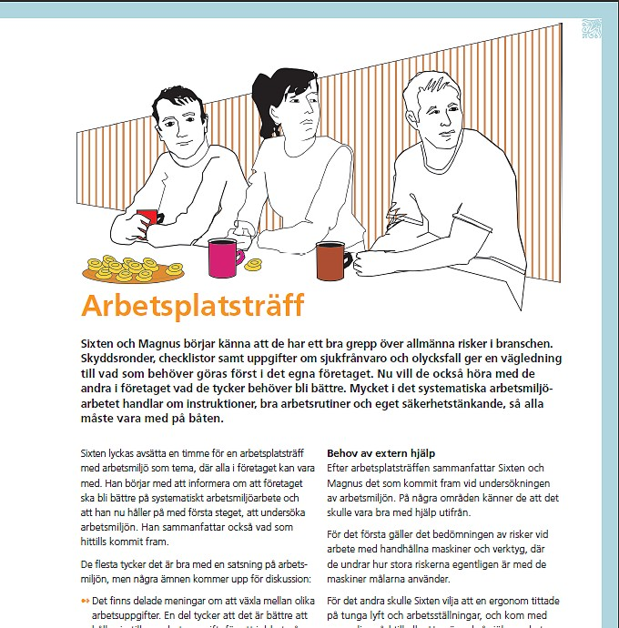 Illustratör Stefan Lindblad, vektor illustration, vector, CorelDRAW, Svenska målareförbundet, editorial, magazine, Prevent