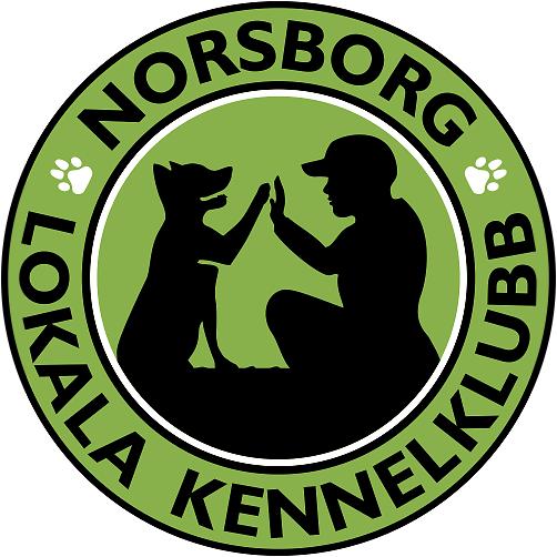 Gjort logotyp design för Norsborg Lokala Kennelklubb