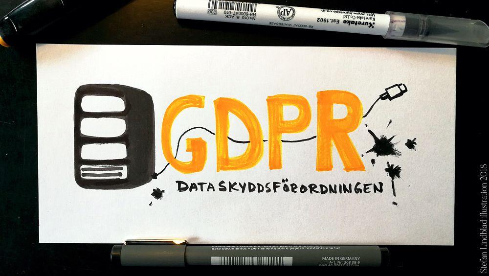 Illustration, GDPR, Stefan Lindblad