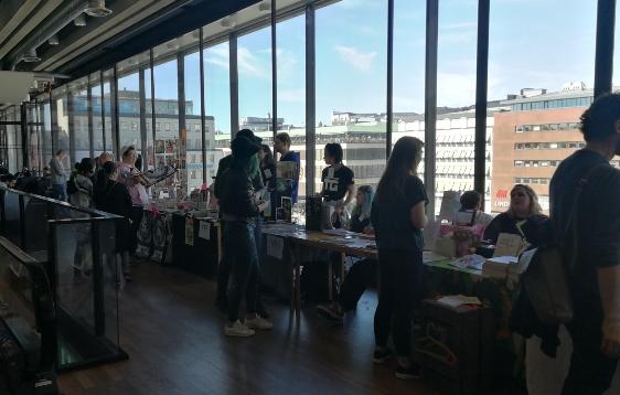 Besök på Seriefestivalen, Stockholm Internationella 2018
