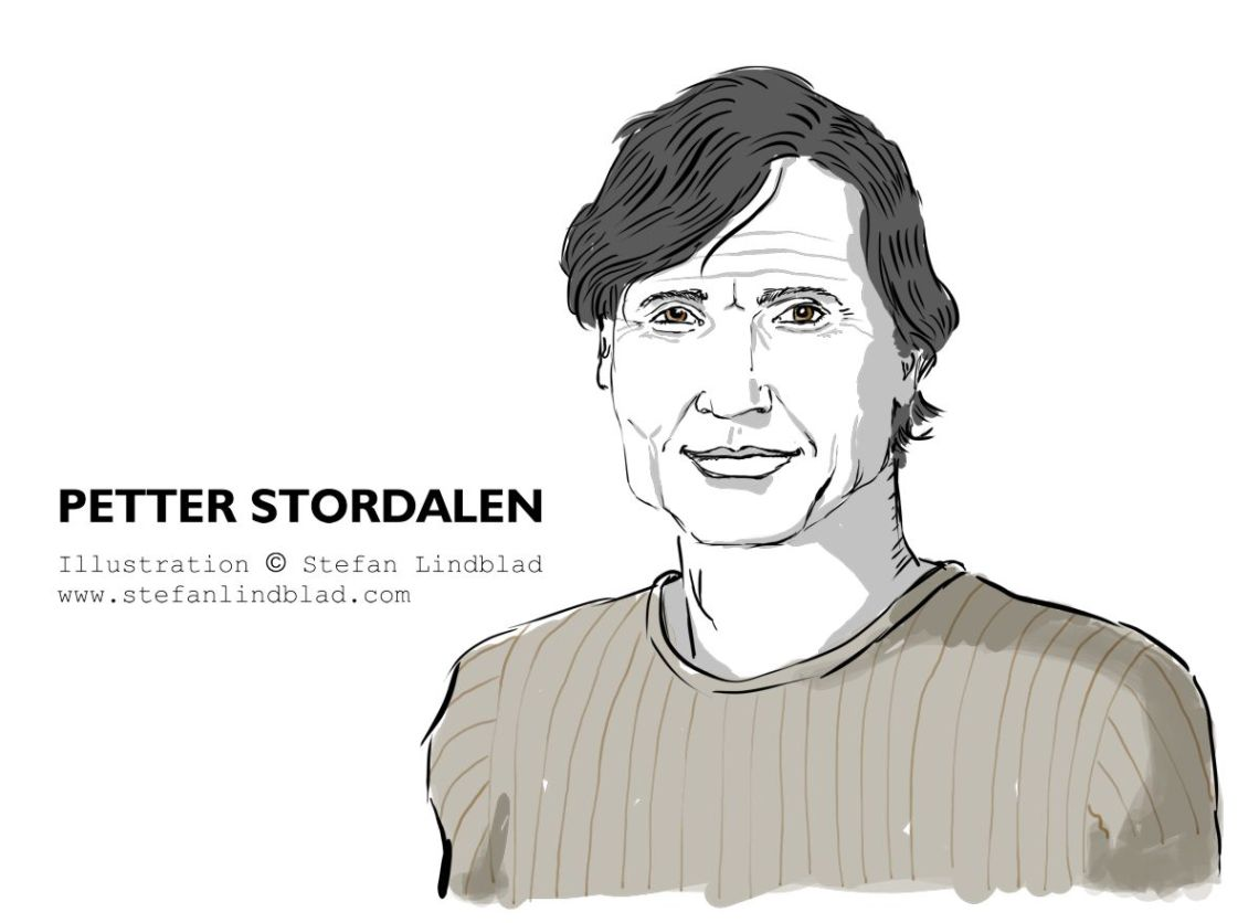 Porträtt, portrait, Petter Stordalen, Ägare av, Owner, CEO, Nordic Choice Hotels. Illustration, teckning av, Stefan Lindblad, illustratör. Illustration, 2018, HR People, Magasin, tidningen