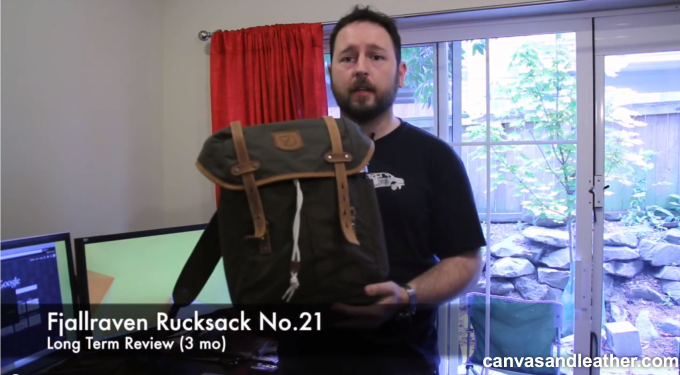 Fjallraven Rucksack No 21 Review