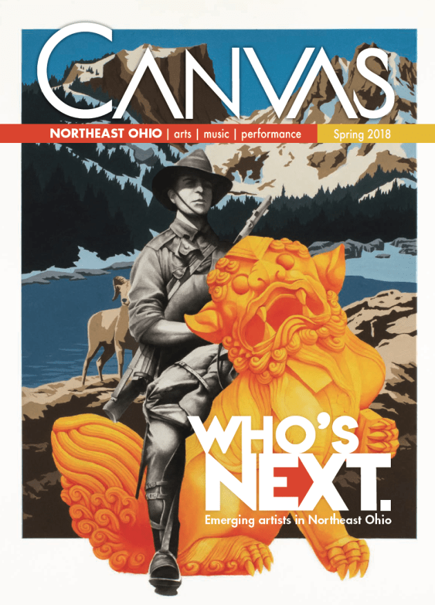 Canvas cover Spring 2018