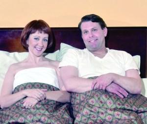 Natalie Sander Kern as Doris and Keith Stevens as George. PHOTO | Bruce Ford