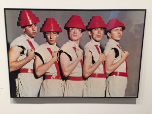 """MOCA Cleveland's presentation of """"Myopia"""" features Mothersbaugh's musical career and includes this group photo of the band Devo. PHOTO 
