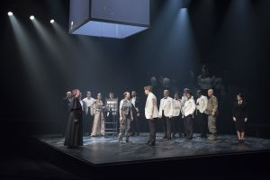 "The cast of ""Saint Joan"". Photo | Emily Cooper"