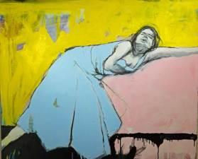 """""""Cinderella Sleeping It Off,"""" by John W. Carlson."""