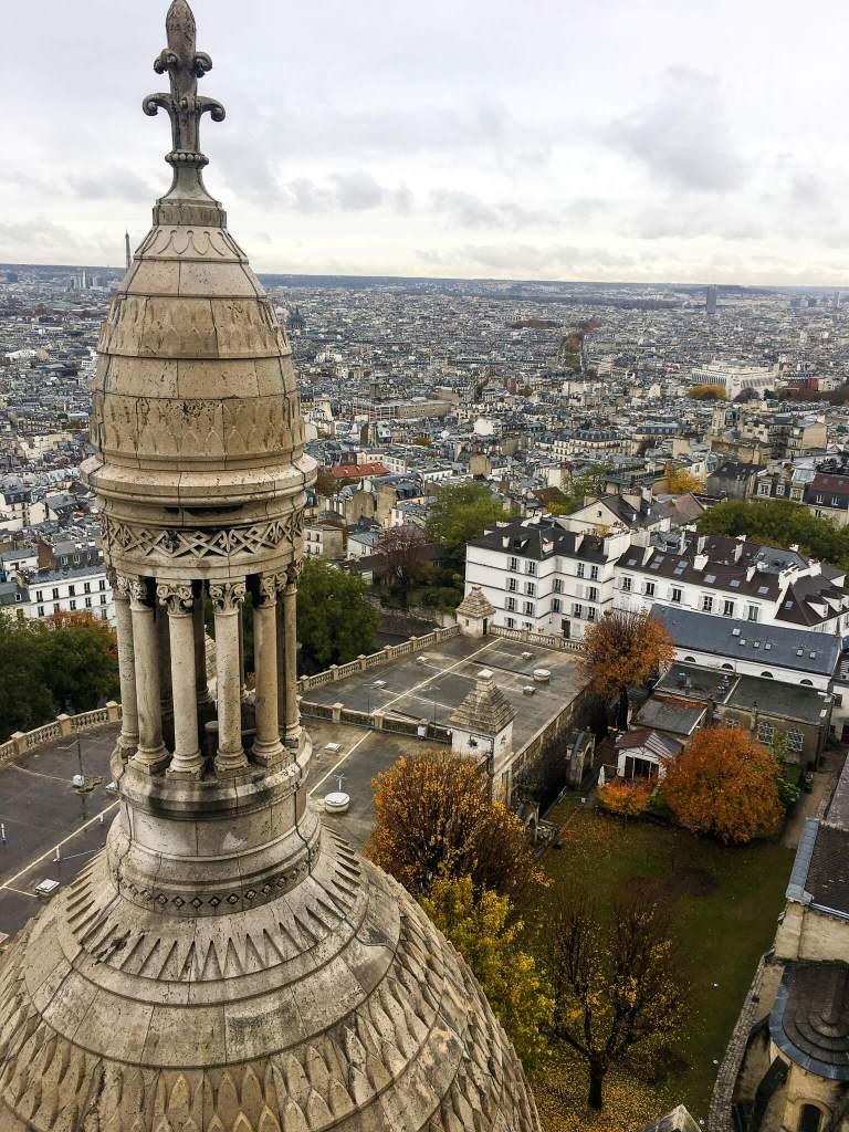 Paris view from Sacre Coeur