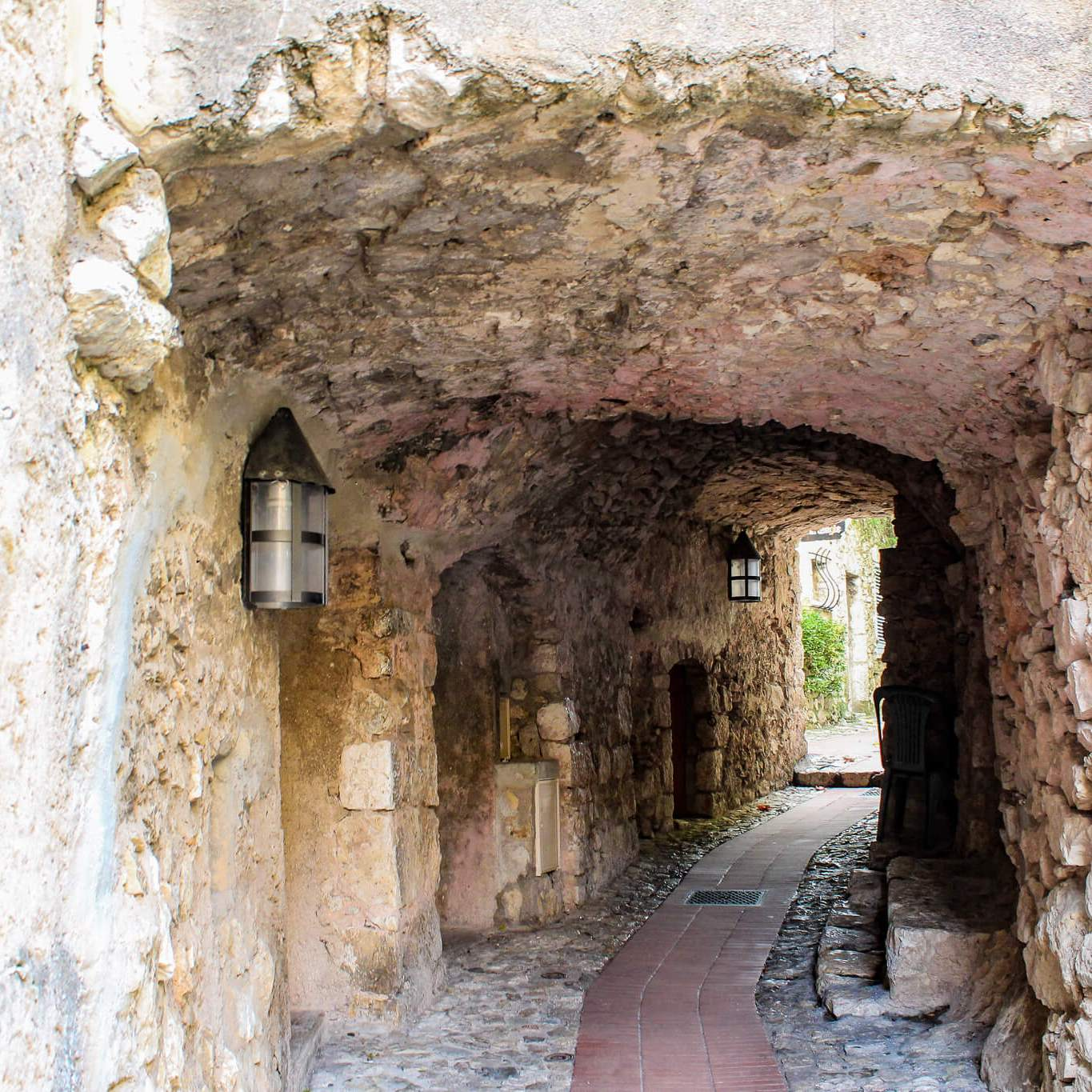 Archway in Eze, France