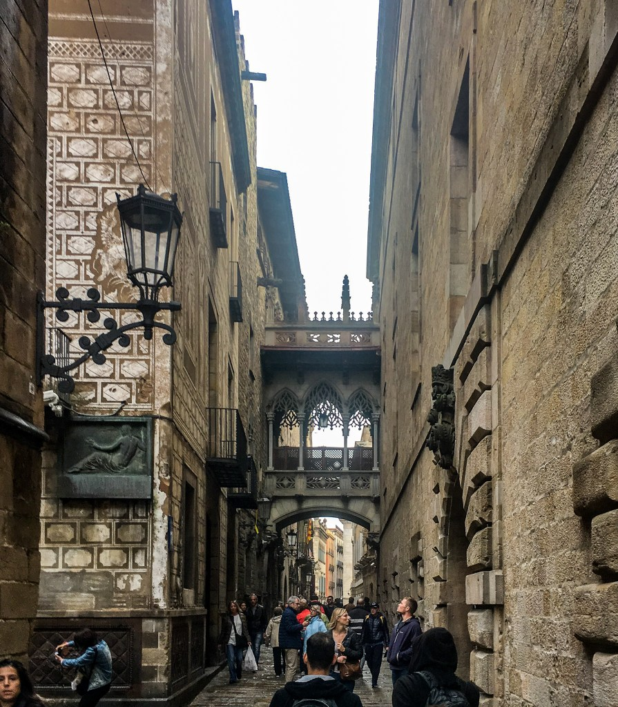 Things to Do in Barcelona - El Pont Del Bisbe