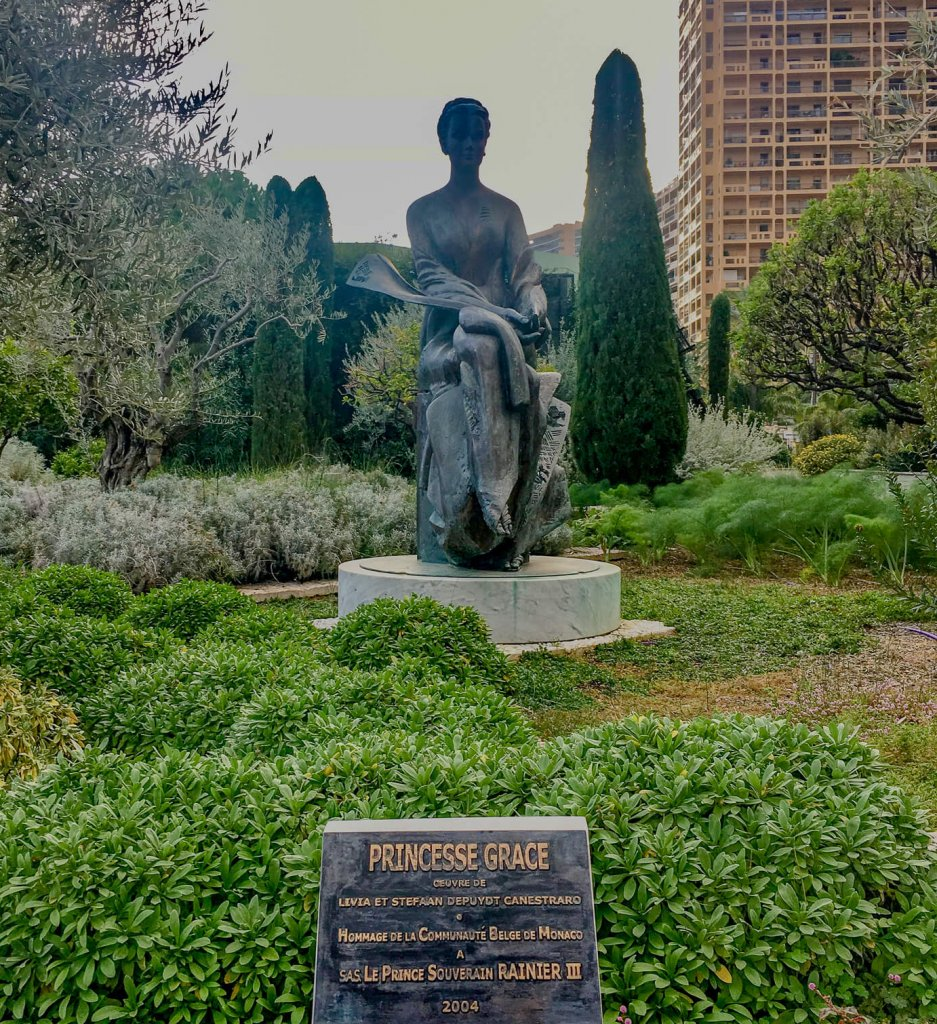 Monaco Princess Grace Statue