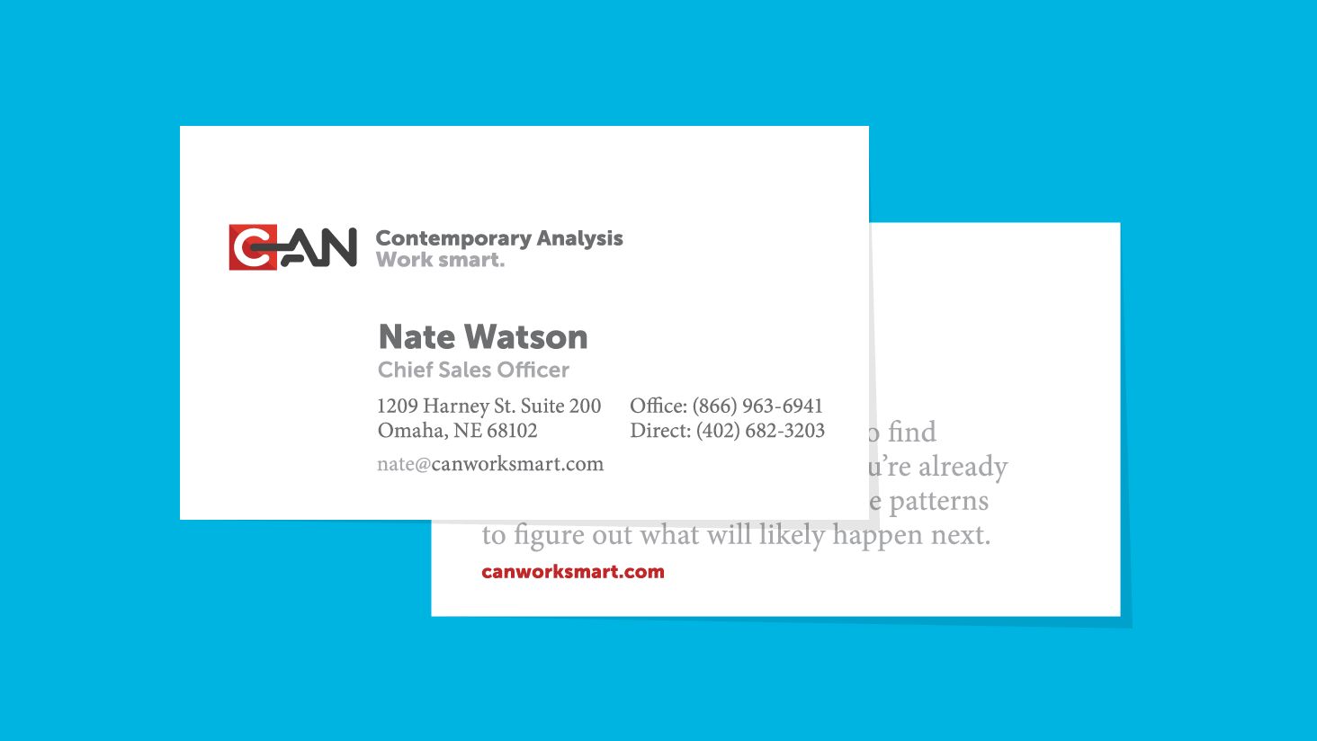 What to put on your business card - Contemporary Analysis