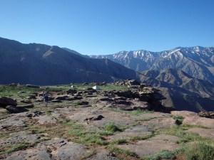 Canyon Yagour dans la région de Marrakech.
