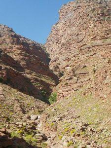 Landschaft des canyon Yagour.