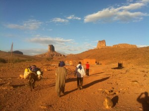 Canyon dans la région de Ouarzazate. Page séjours et tarifs.