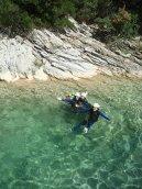 swim in natural pool of barbaira
