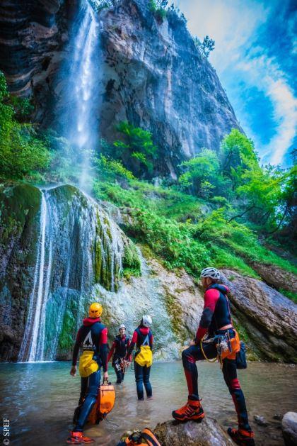 Histoire du canyoning