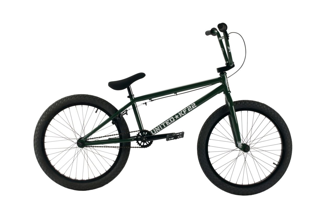 United BMX KF22 Green Side