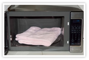 can you microwave a towel can you