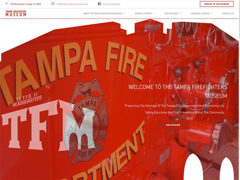 Tampa Firefighters Musem - Portfolio - Cao Creative