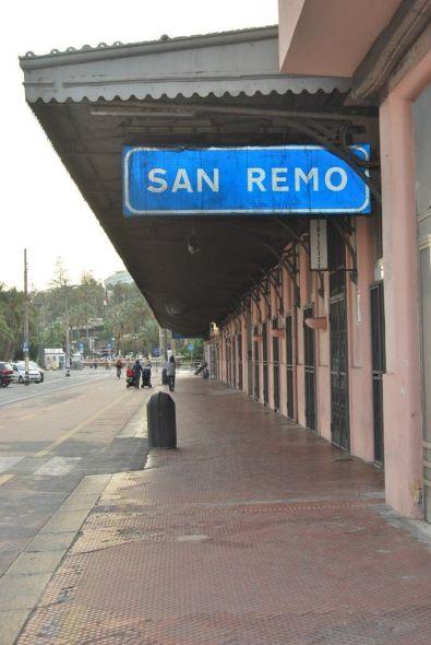 Estación antigua de San Remo.