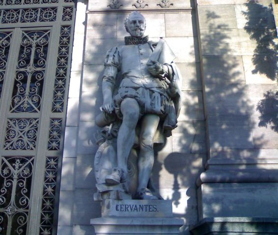 Miguel_de_Cervantes_at_the_National_Library